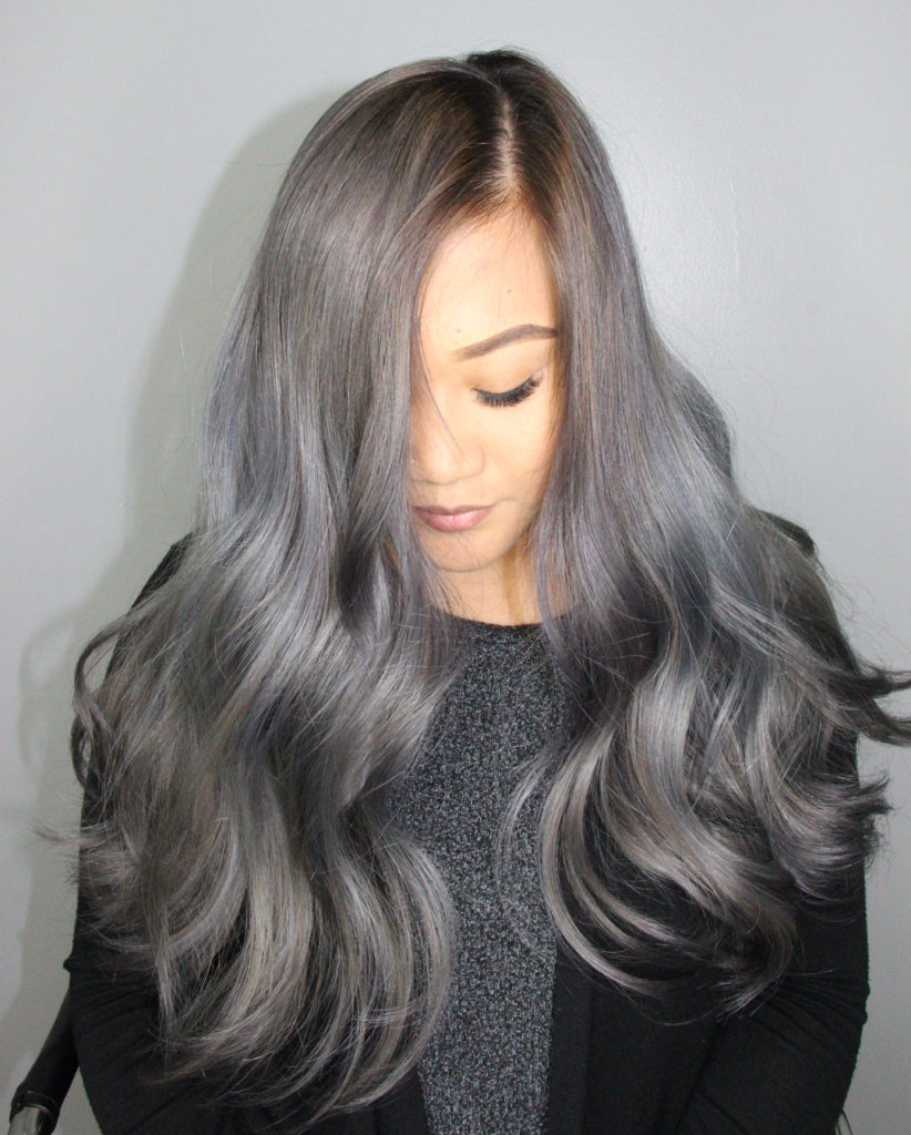 Steel Balayage - Hair Colors For Spring