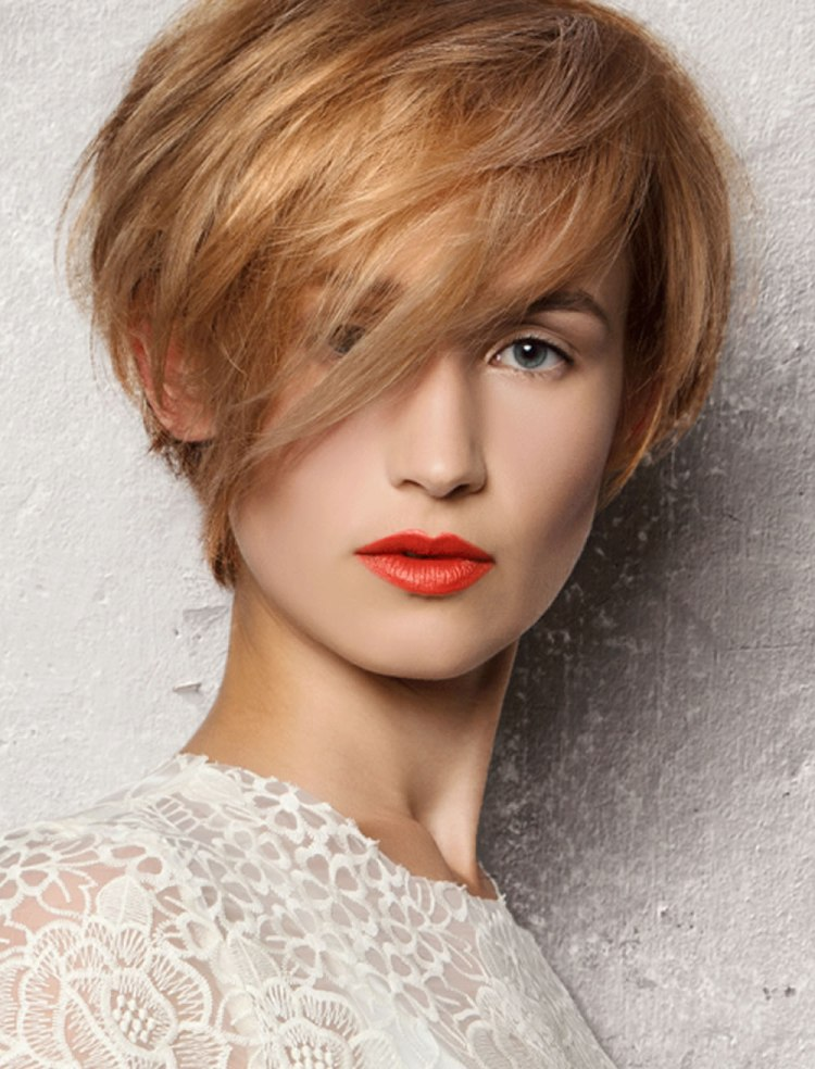Blonde Pixie Short Hair