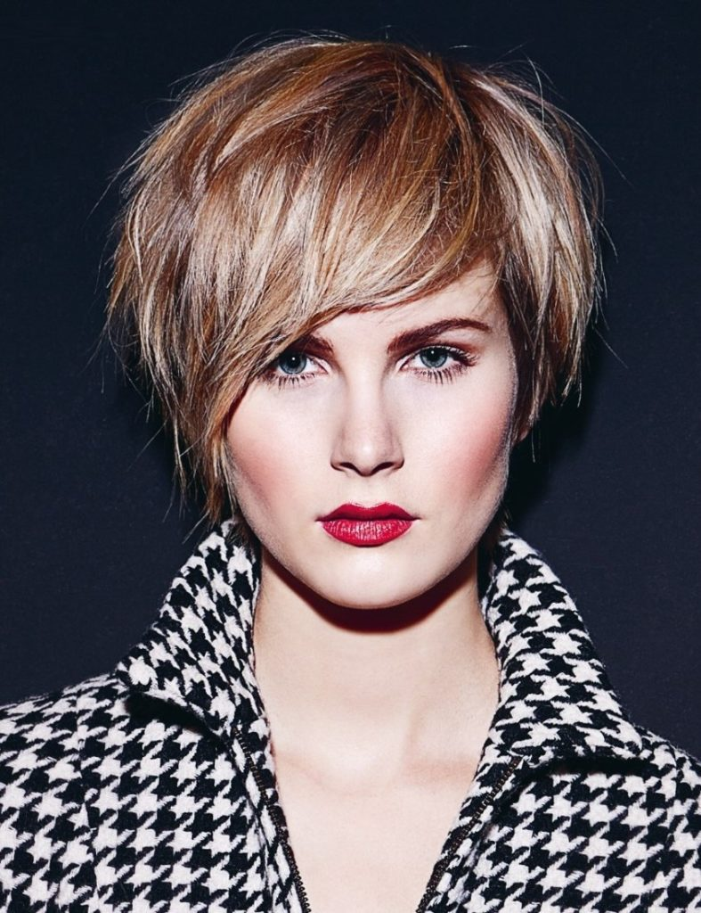 Razor Cut Texture Short Hair