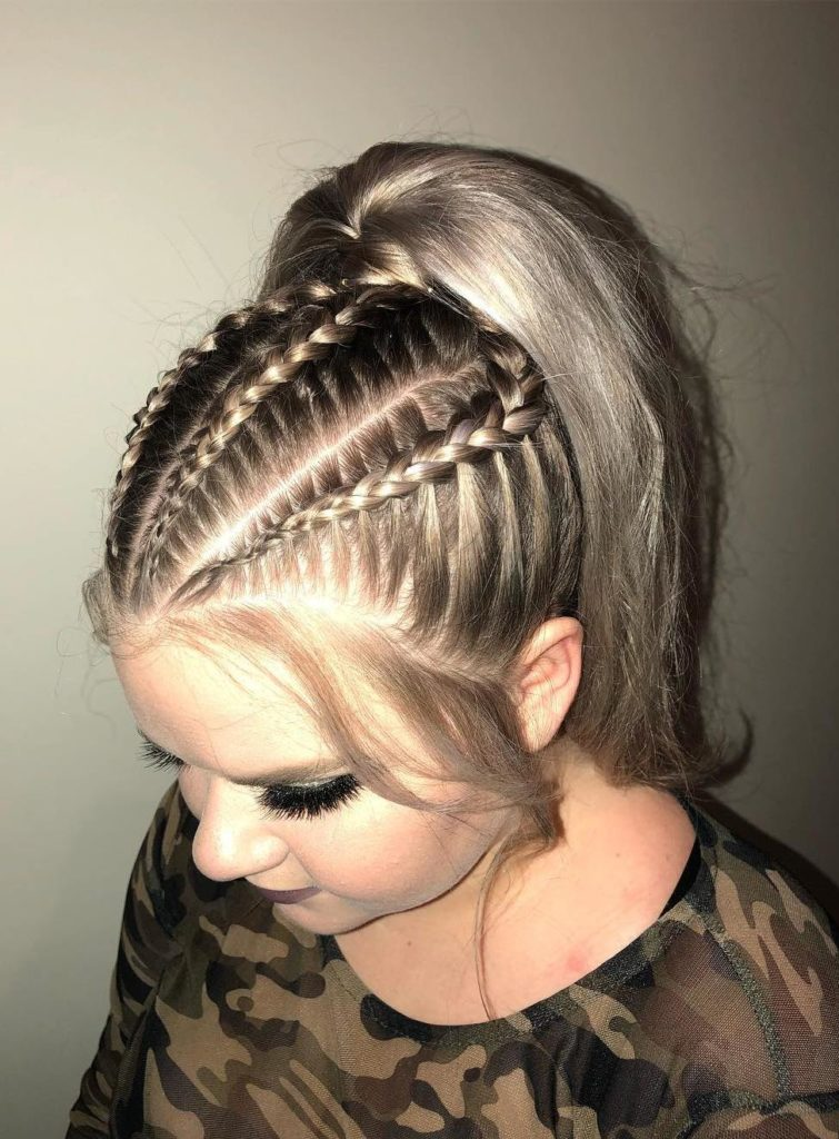 Ash Blonde Ponytail - Hair Colors For Spring