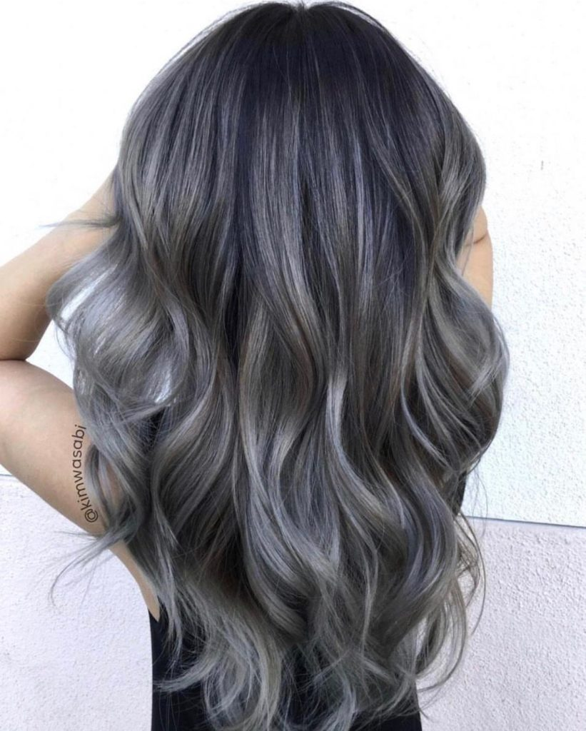Charcoal Hair Color - Hair Colors For Spring