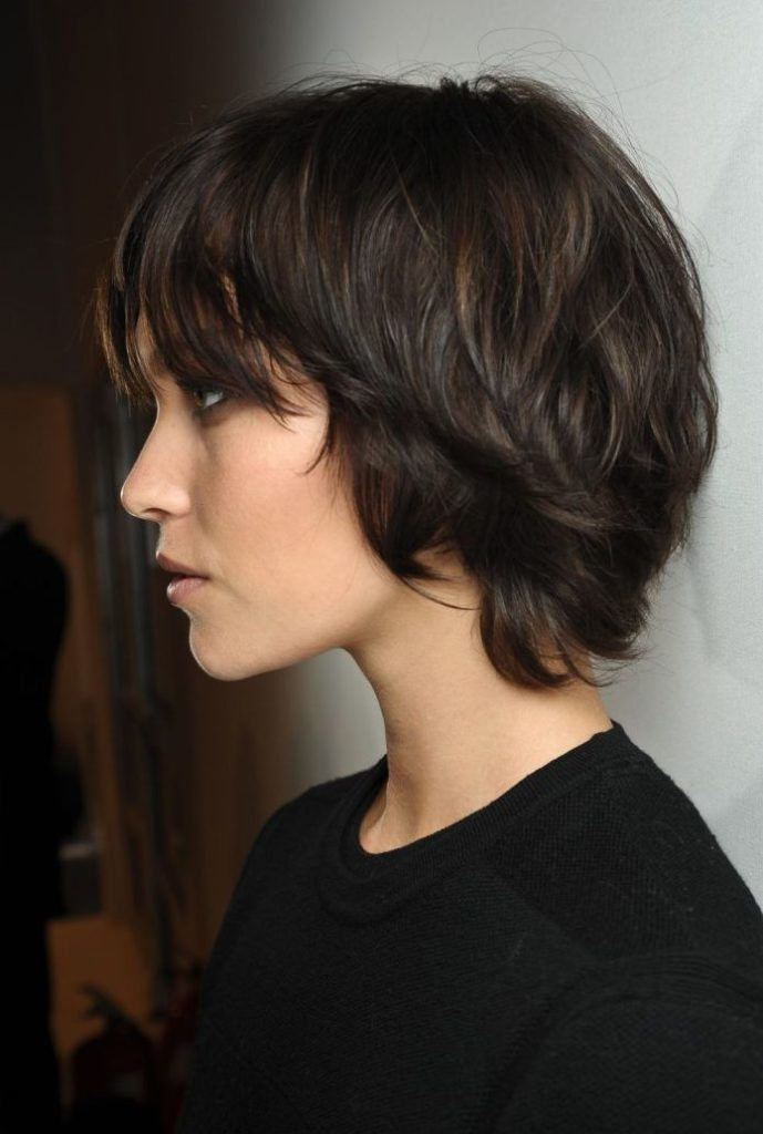 Short Pixie with Bangs