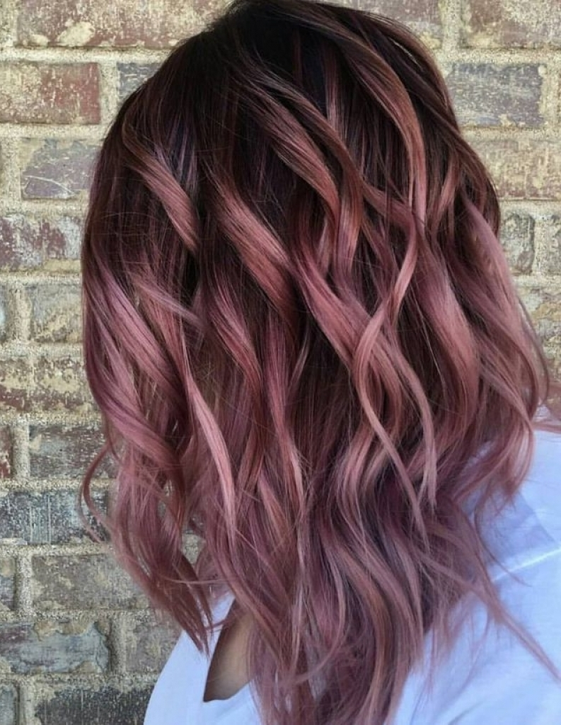 Rose Gold - Hair Colors For Spring