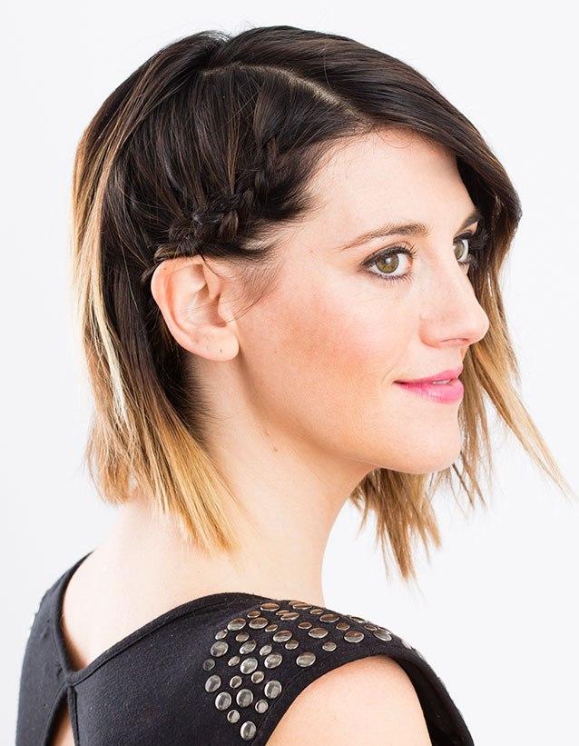 Braided Short Hairstyles