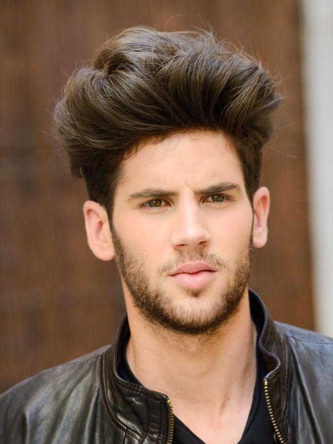 High Quiff Haircut