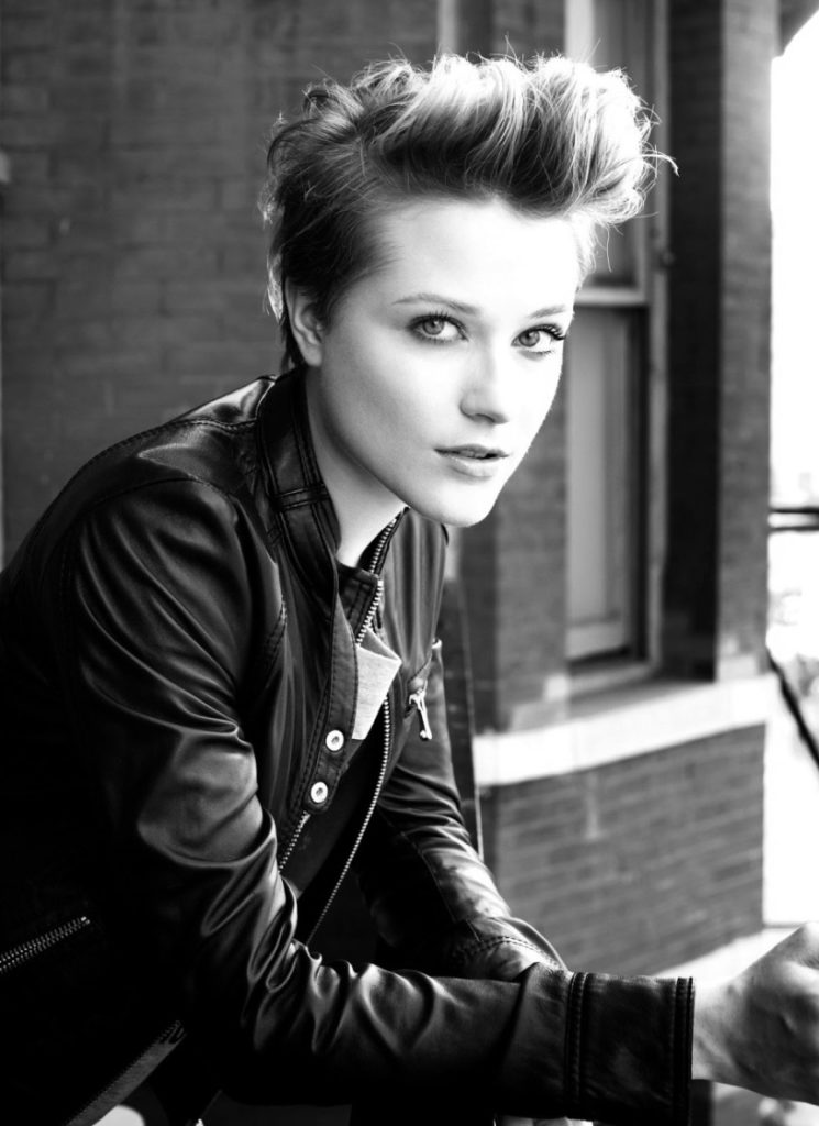 Tomboy Pompadour Hairstyle