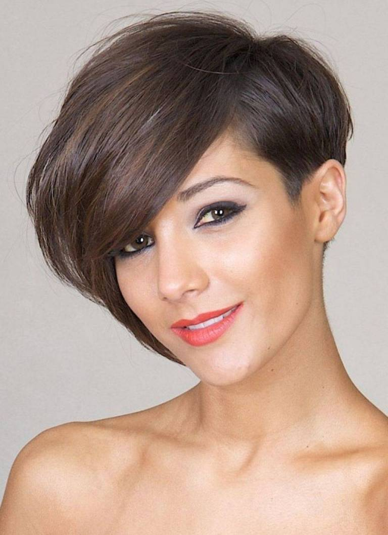 Bob Haircut with Asymmetric Part