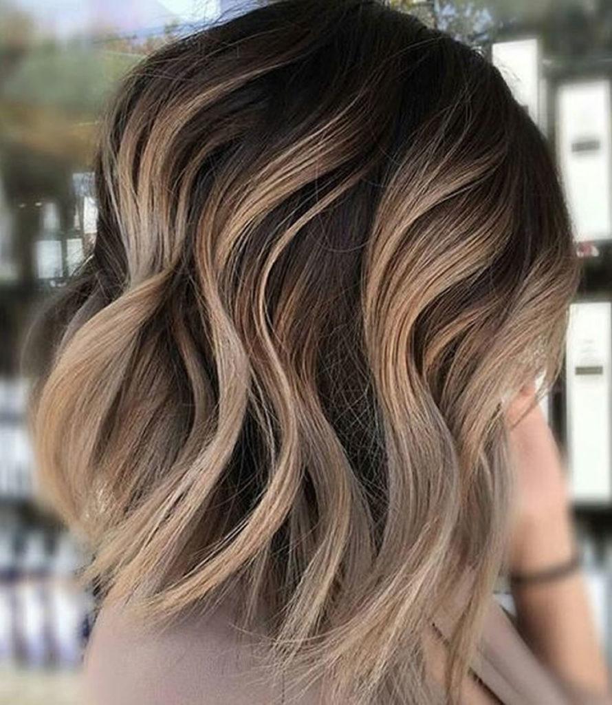 Carmel Blonde Short Hairstyle