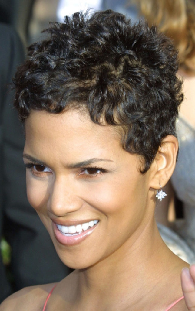 Natural Curly Short Hairstyle