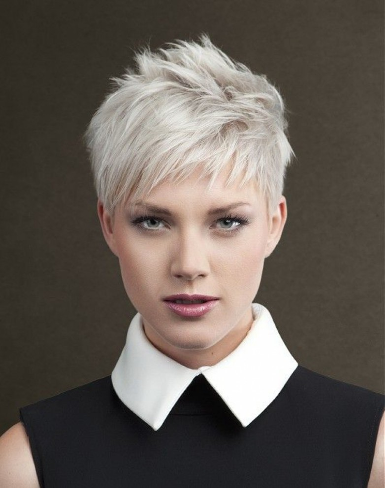 Pixie Cut Choppy Hairstyle
