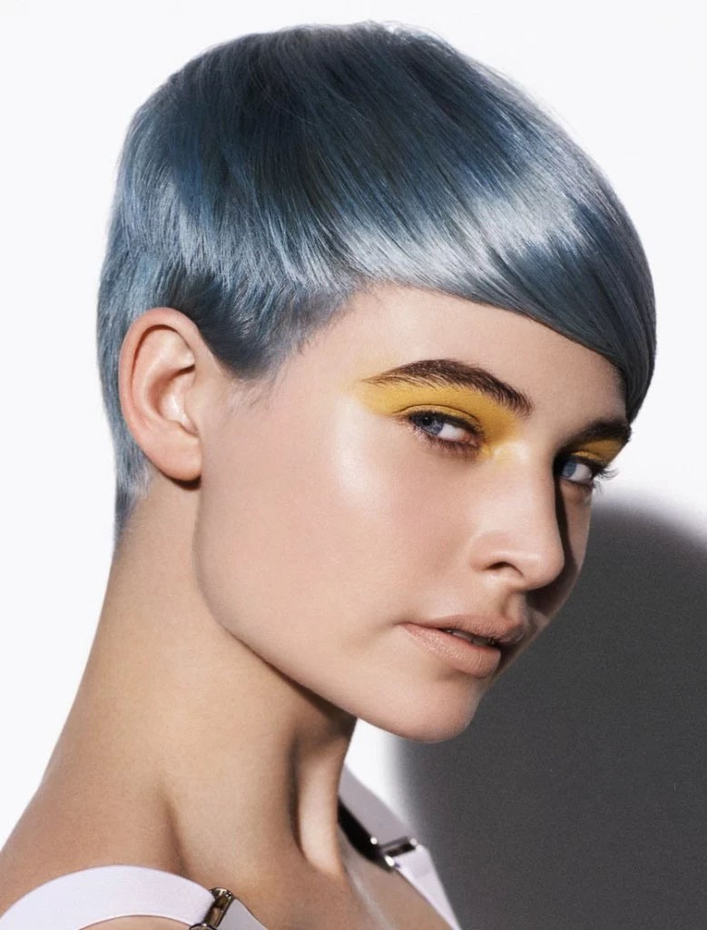 Silver Short Hairstyle