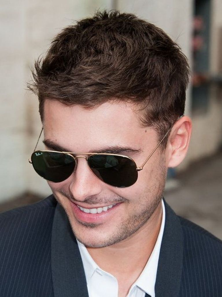 Messy Short Hairstyle For Men