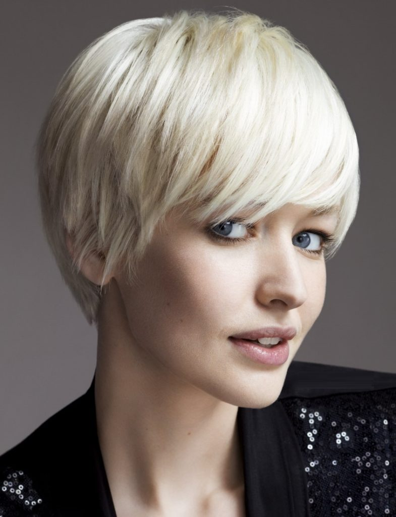 Feathered Short Hairstyles