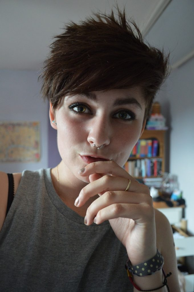 Funky Tomboy Hairstyle