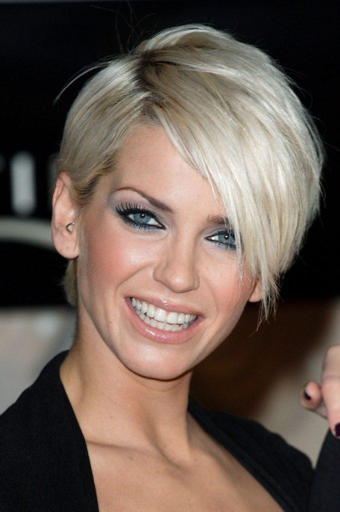 Side Fringe Short Hairstyle