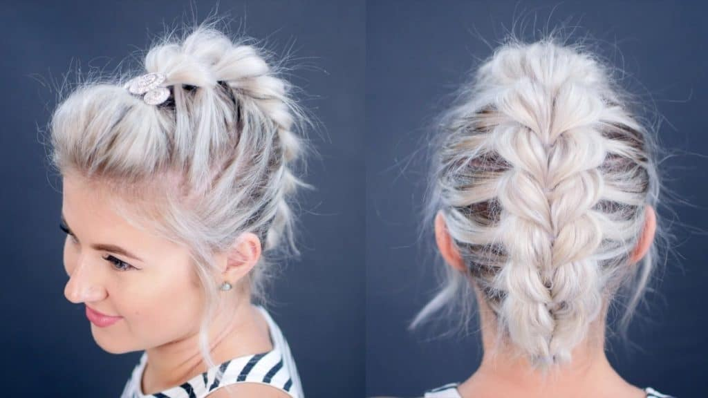 30 Easy And Cute Braided Short Hairstyles For Women
