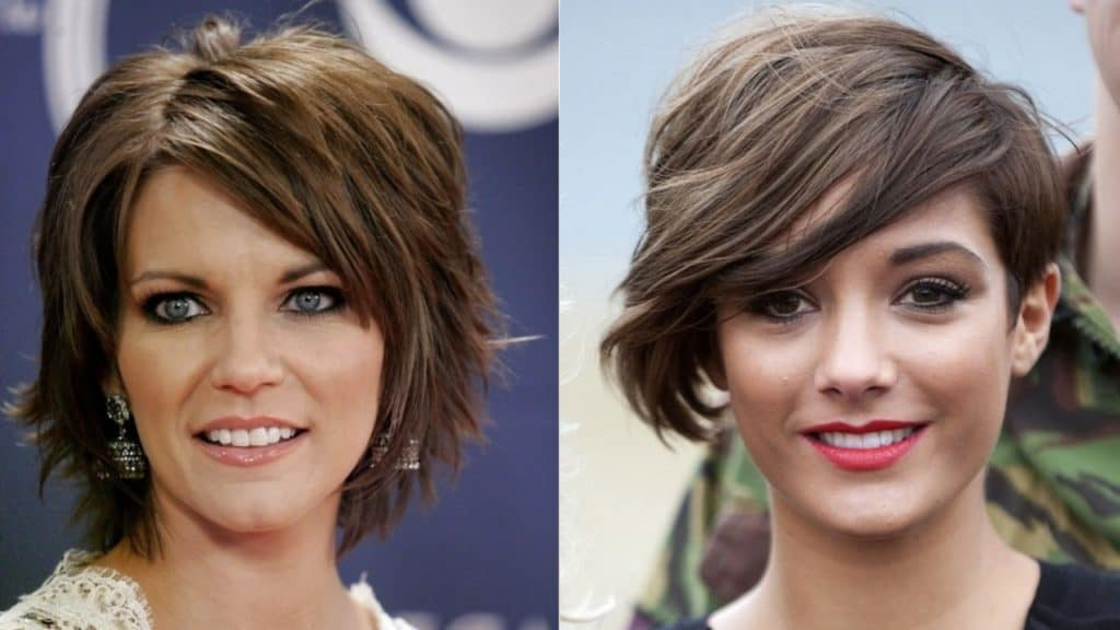 short hairstyles for thick hair - 15 classy and elegant ideas