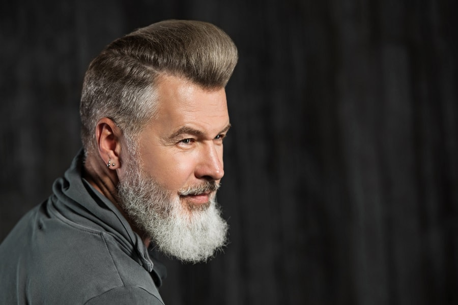 pompadour for guy over 40