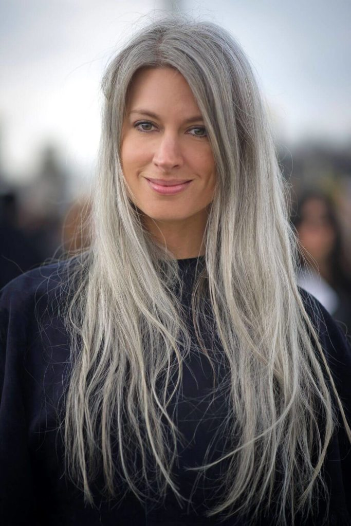 Long Hairstyles for Over 50