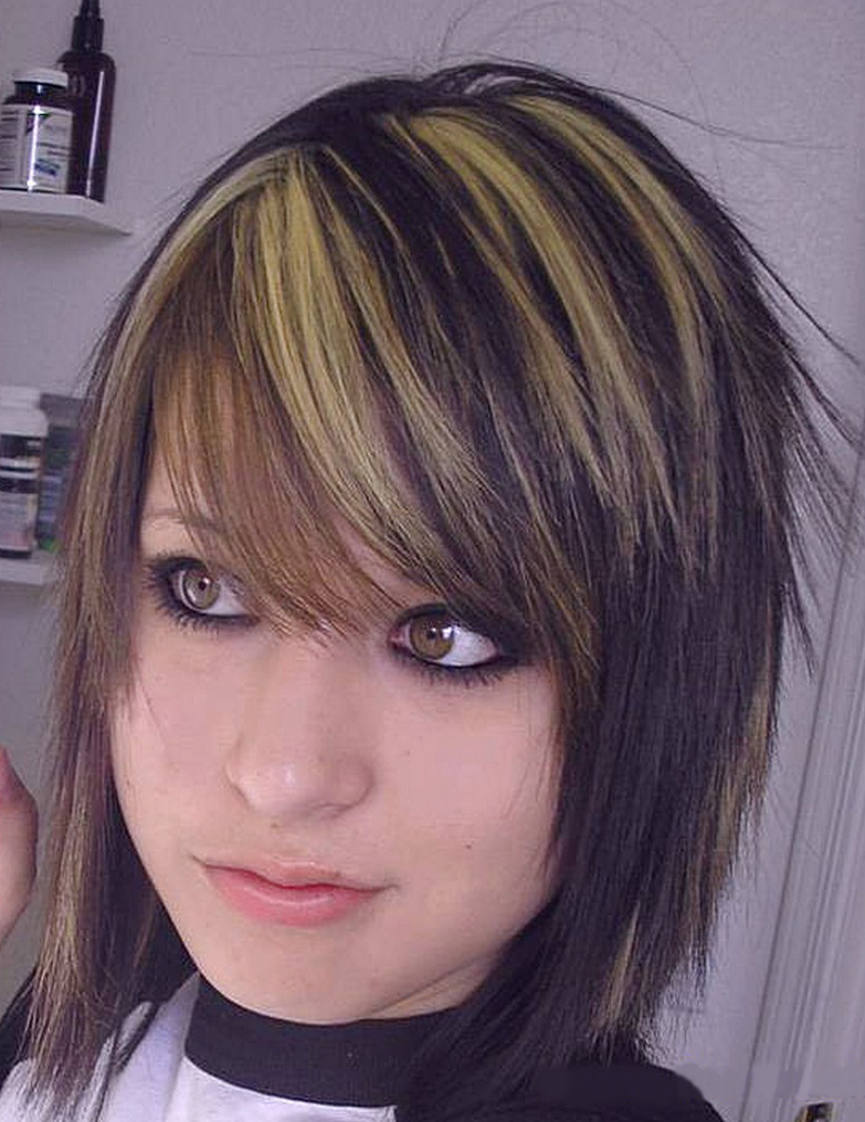 Emo Short Hairstyle