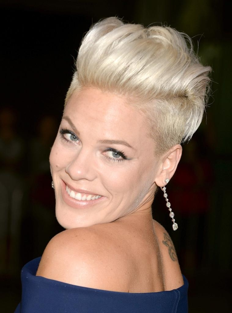 Faux Mohawk Short Hairstyle