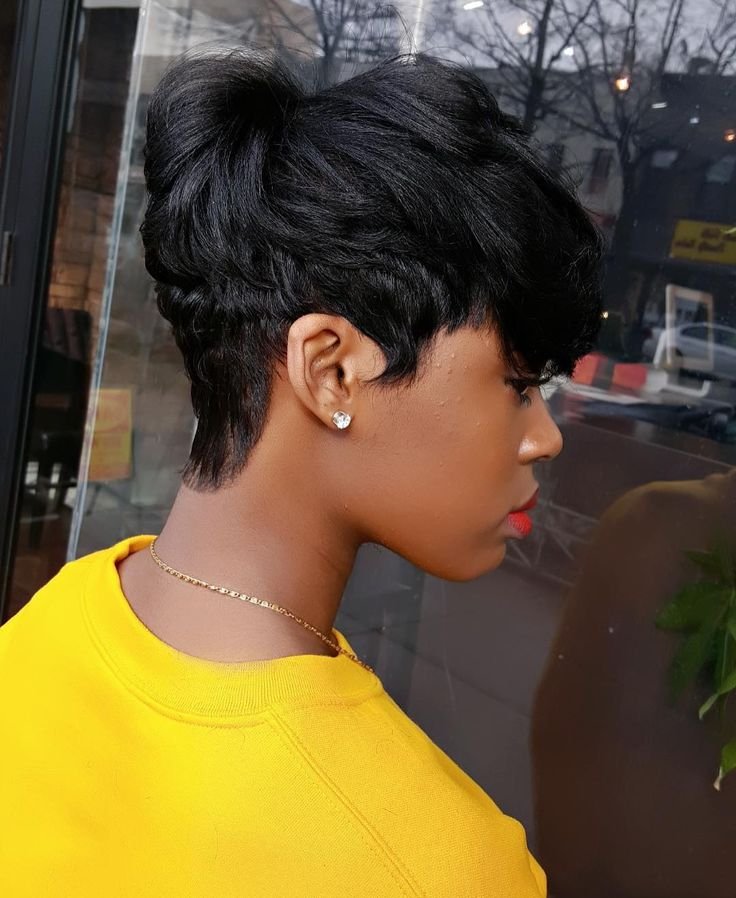 Pixie Cut Haircut for Black Women