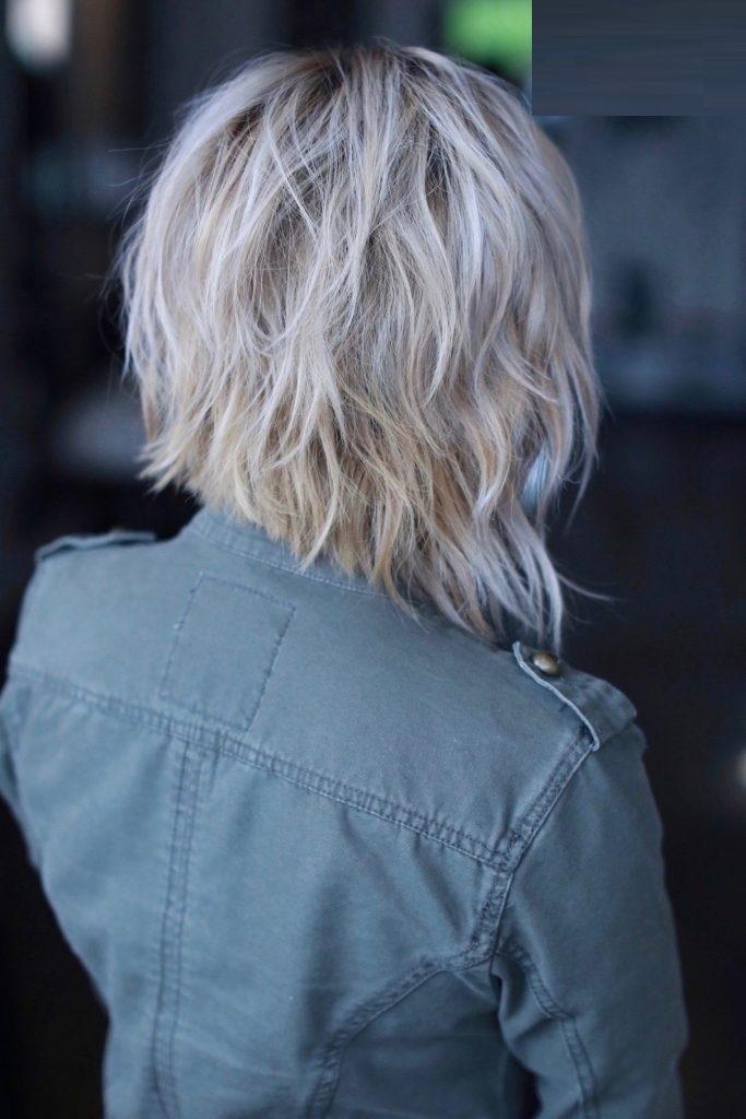 Funky Asymmetrical Short Hairstyle