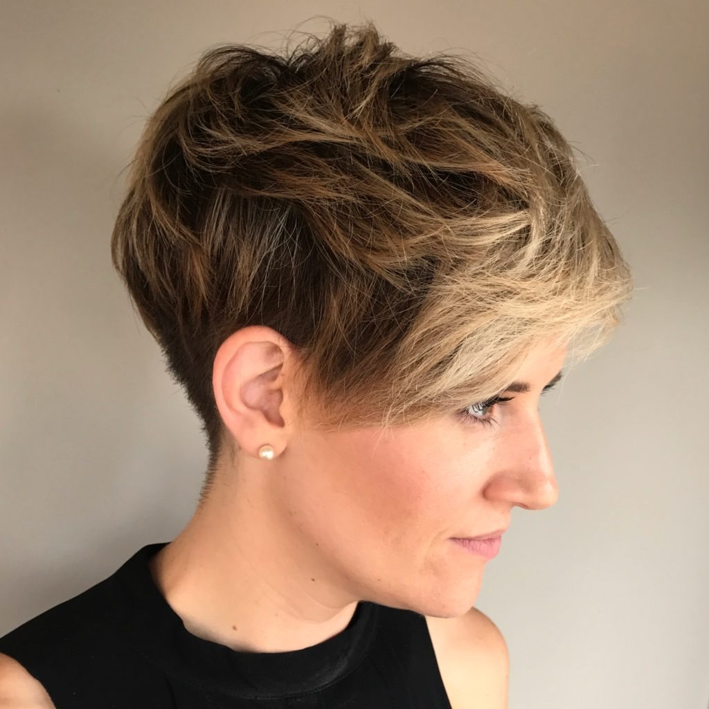 Undercut Pixie Short Hairstyle