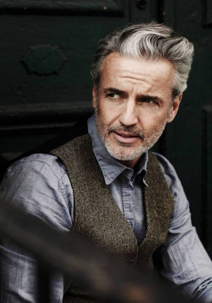 17 Stylish Hairstyles for Men Over 50 to Change Overall Look