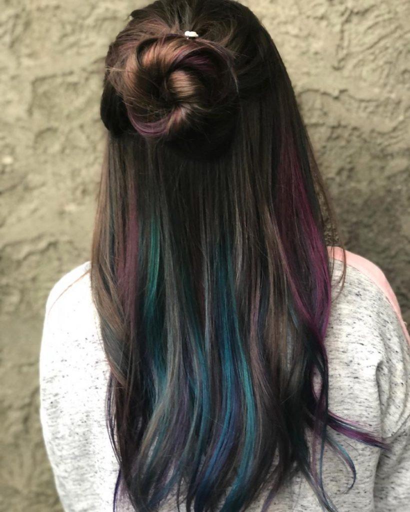 Peek A Boo Hair Color