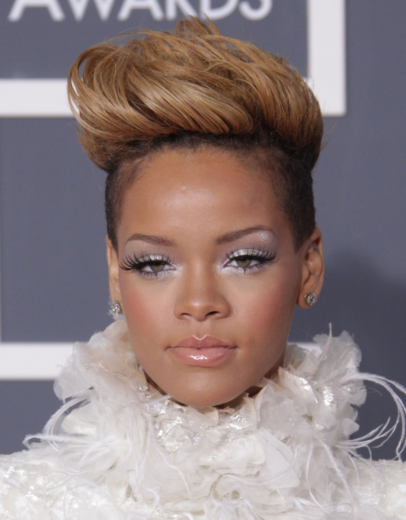 Shaved Side Mohawk Hairstyle