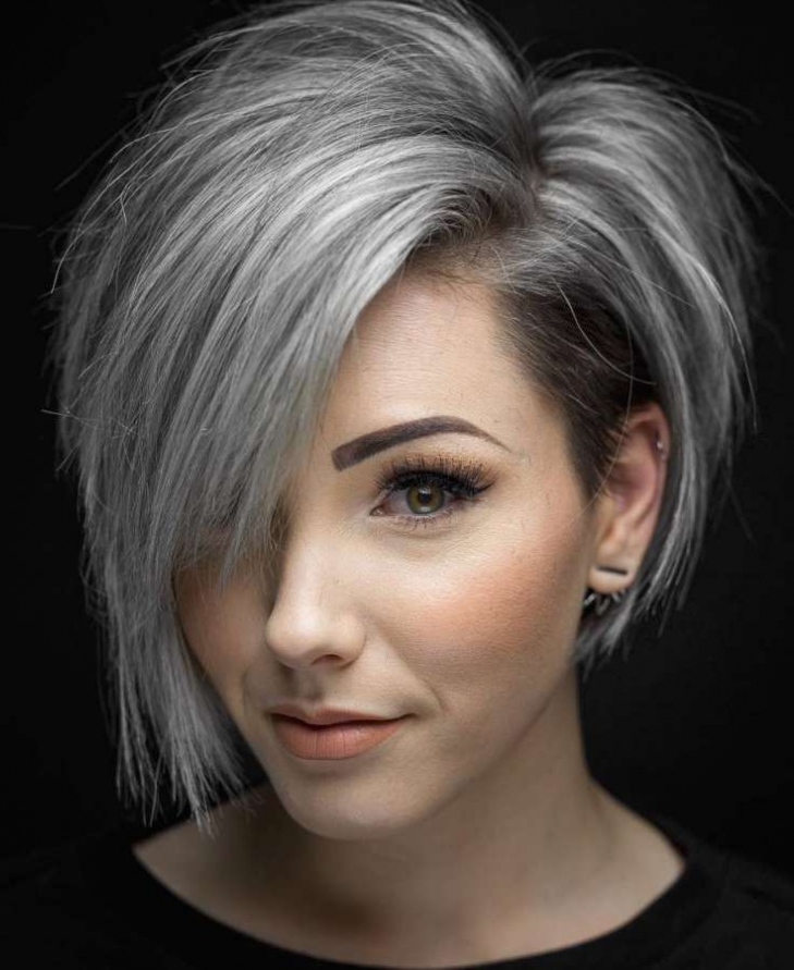Asymmetrical Short Hairstyles And Haircut Ideas For Women
