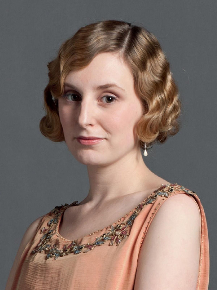 Neck Length Finger Wave Hairstyle