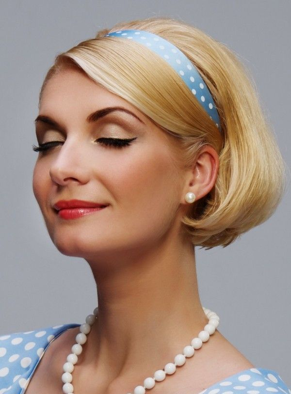 20 Vintage Short Hairstyles for Women   Hairdo Hairstyle