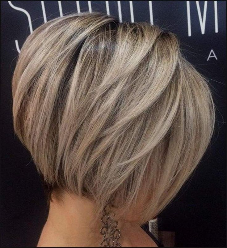 Balayage Tapered Short Hairstyle