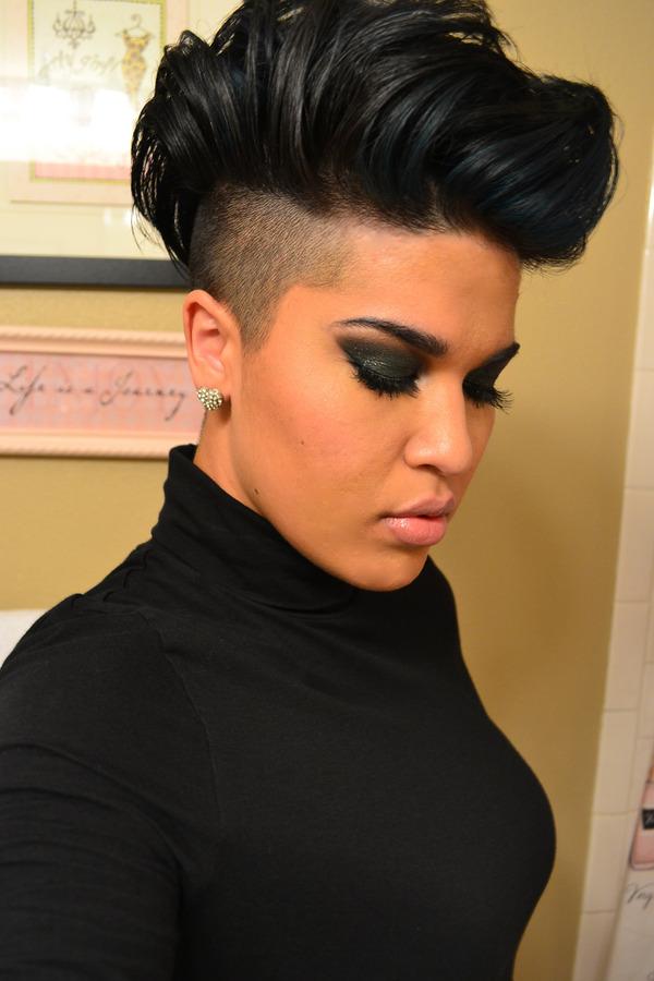 Mohawk Short Hairstyle For Black Women
