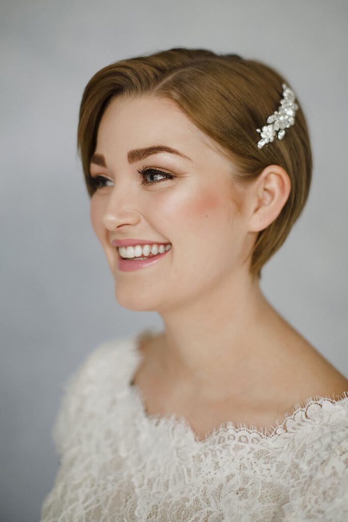 Short Hairstyles For Wedding