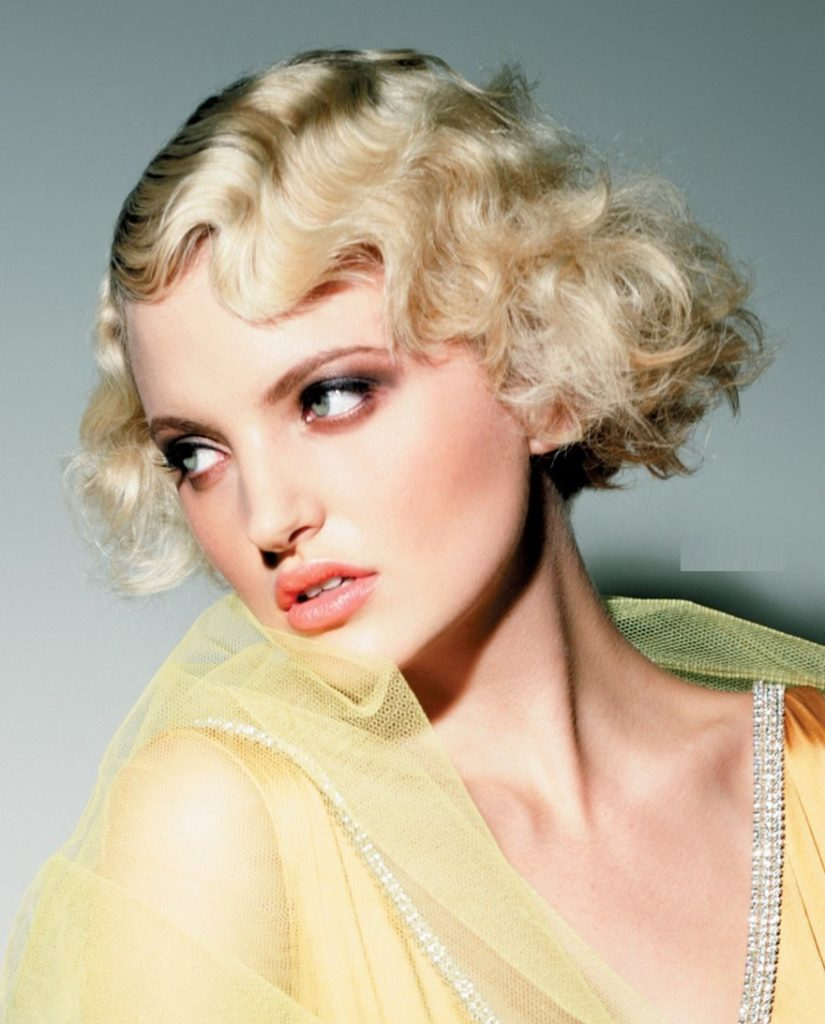1950s Finger Wave Short Hairstyle