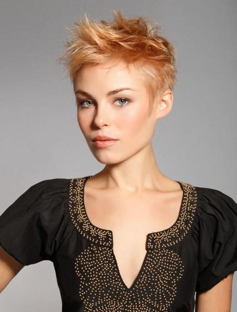 Tapered Short Hairstyles