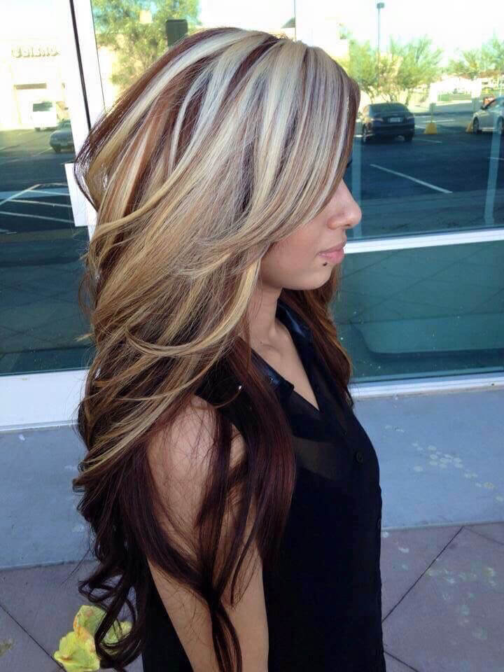Blonde Hair With Color Underneath: 20 Hair Highlights That Look