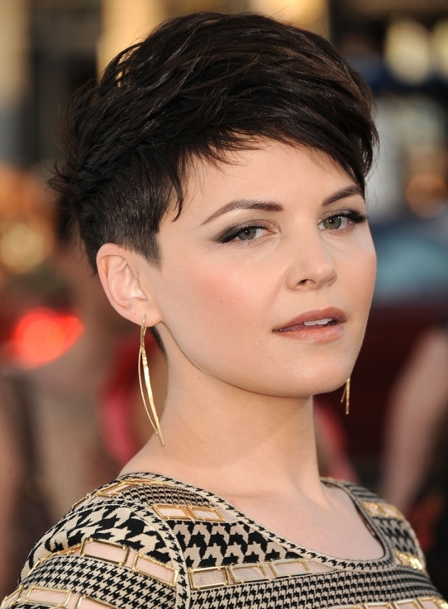 Pixie Cut Short Hairstyle with Bangs