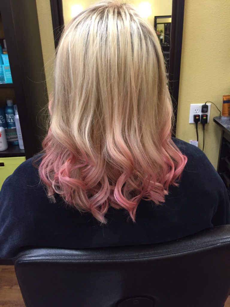 20 Trendy Rose Gold Hair Color And Highlight Ideas