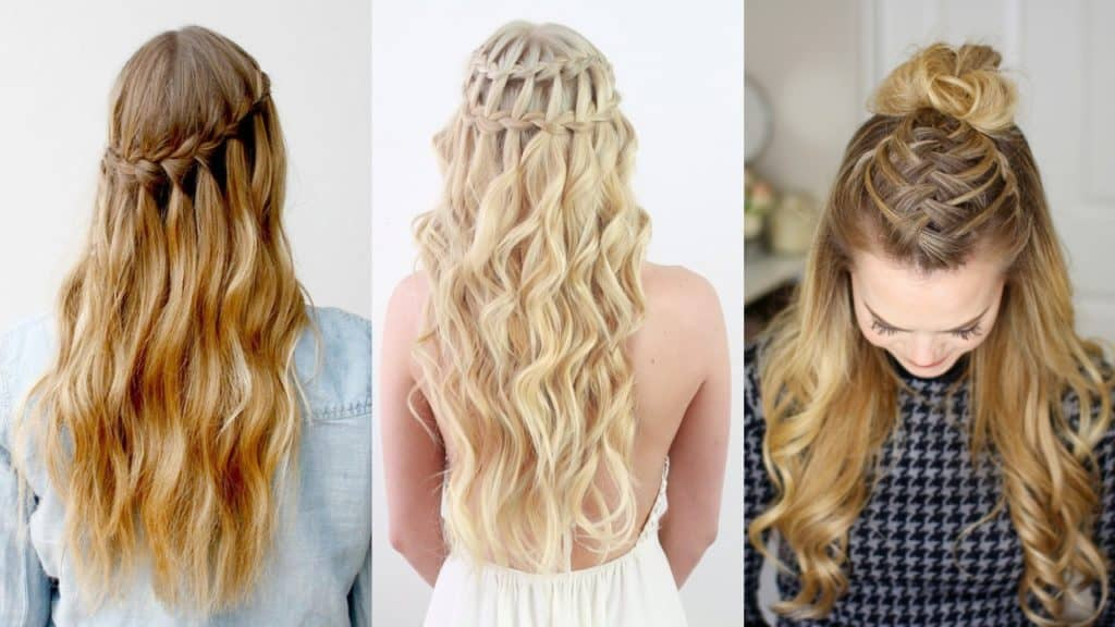 French Waterfall Braid