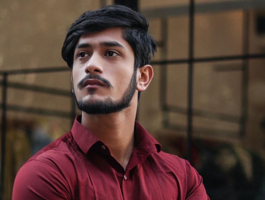 medium haircuts for Indian men