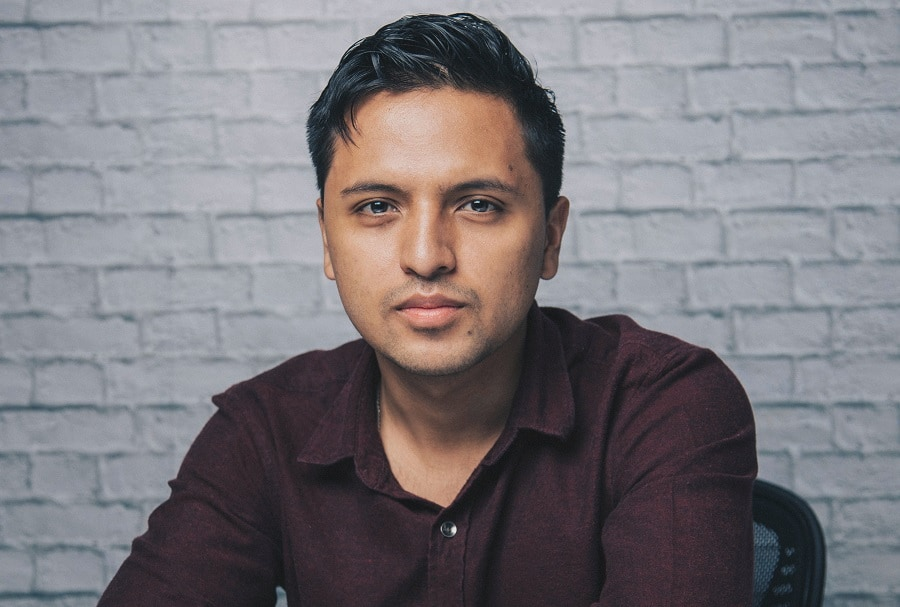 short hairstyle for Indian men
