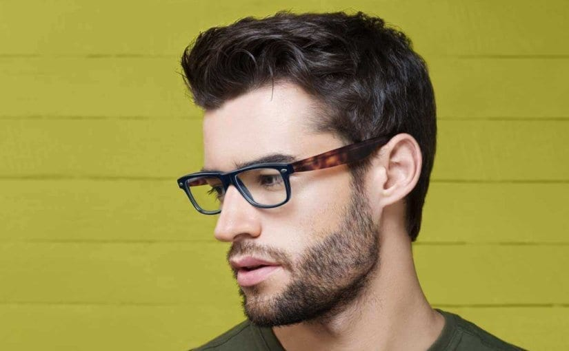 Mens Hairstyles with Glasses