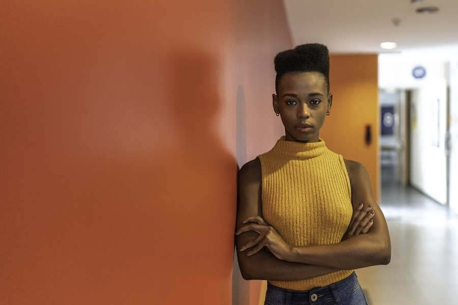 hairstyles for black teenage girl with short hair