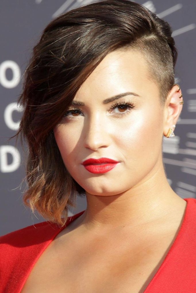 side short hairstyle undercut hairstyles hair ponytail