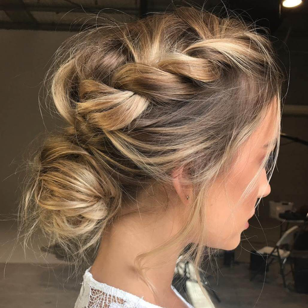 Messy Buns Medium Hairstyles