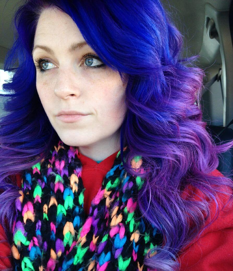 22 Purple Hair Color Ideas For Women